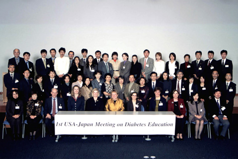 USA-Japan Meeting on Diabetes Education